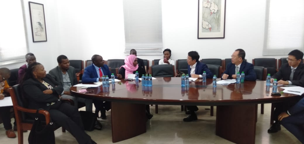 CHINESE AMBASSADOR TO KENYA WU PENG INVITES DECOALONIZE MEMBERS FOR A MEETING TELLS THEM, HE PERSONALLY DOES NOT SUPPORT COAL PLANTS