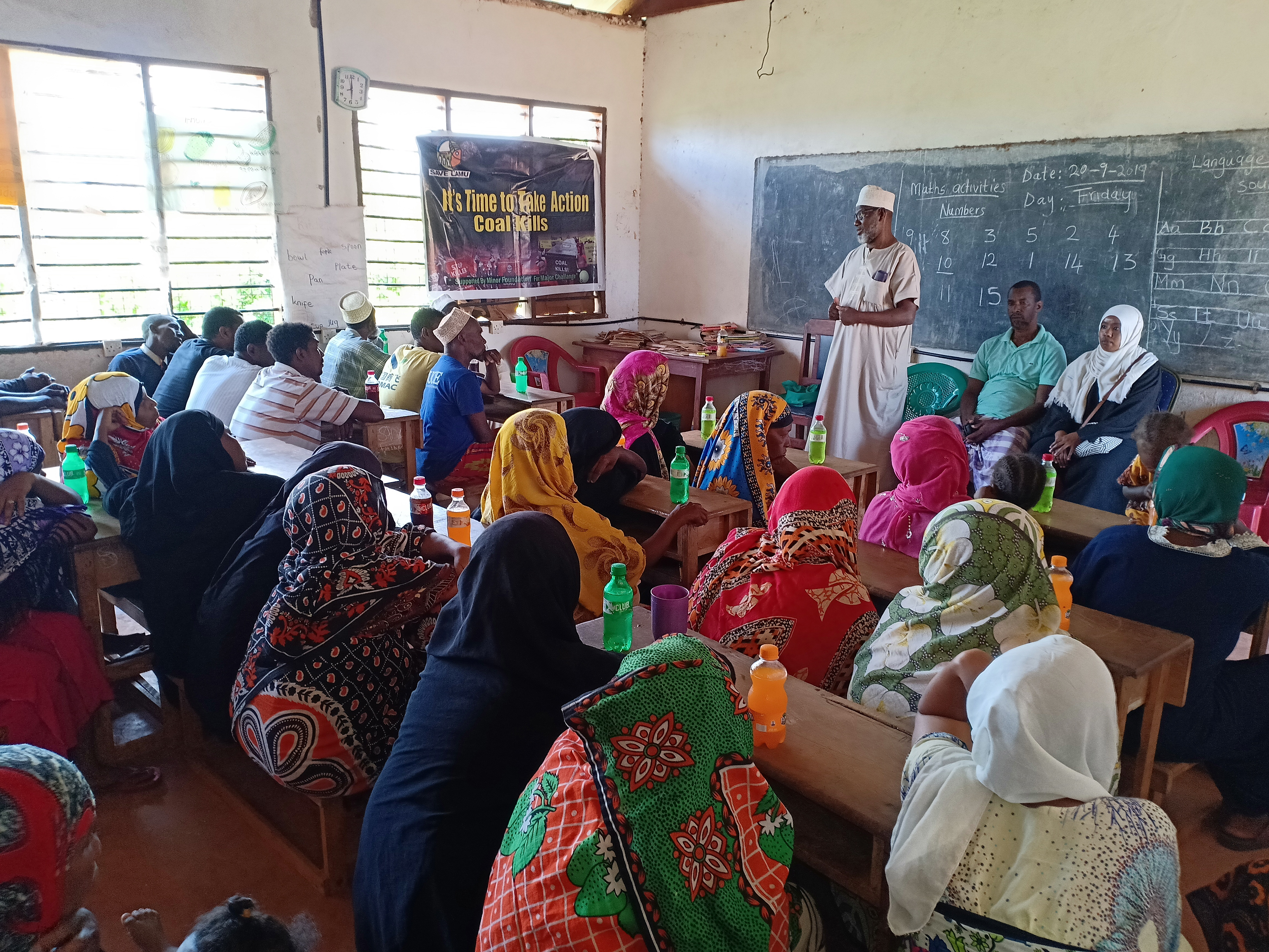 UPDATING COMMUNITIES IN LAMU ON THE RECENTLY DELIVERED JUDGMENT BY NET