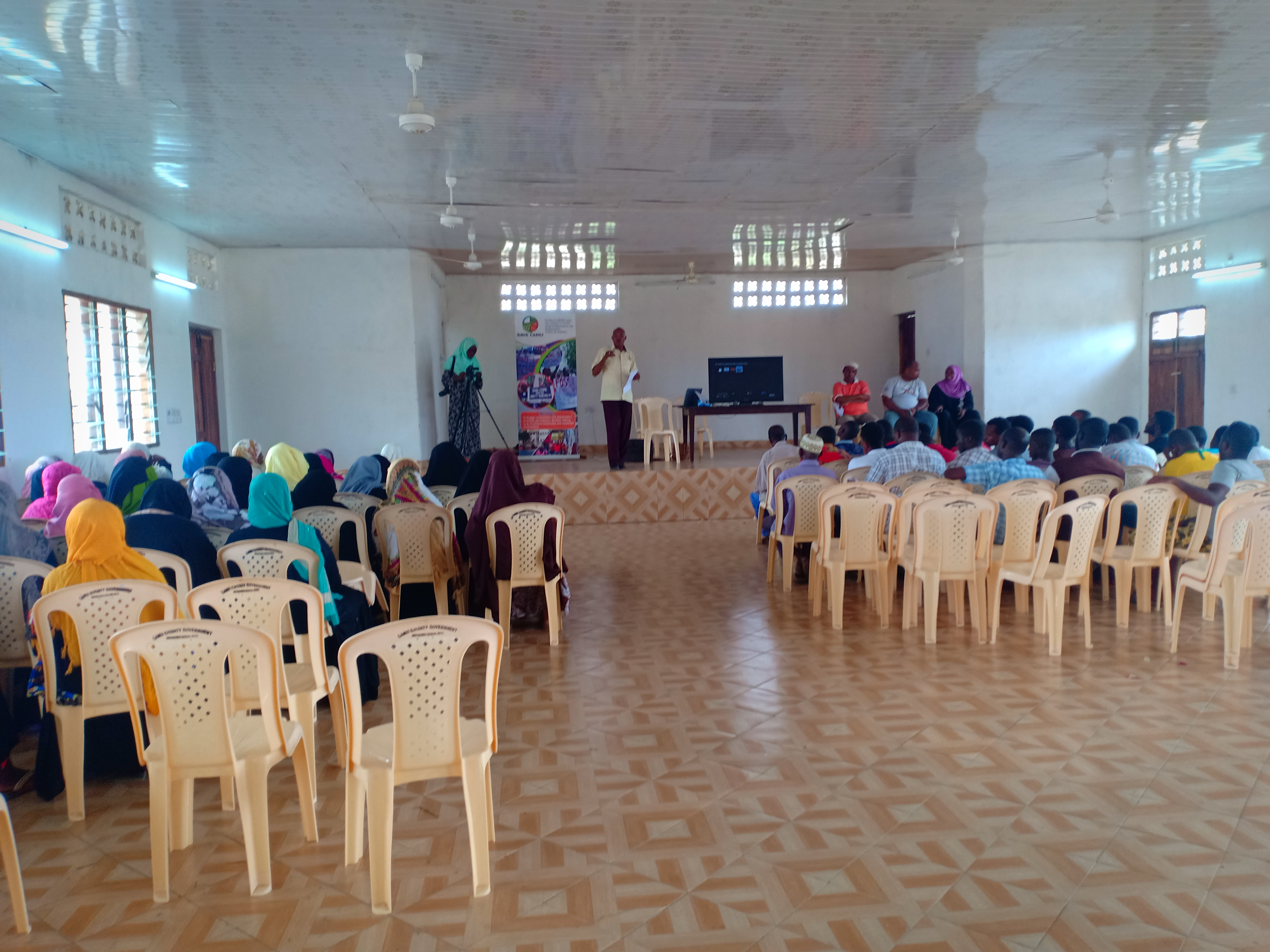 SAVE LAMU EDUCATES COMMUNITIES ON THE EFFECTS OF COAL PROJECT THROUGH VIDEO SCREENING